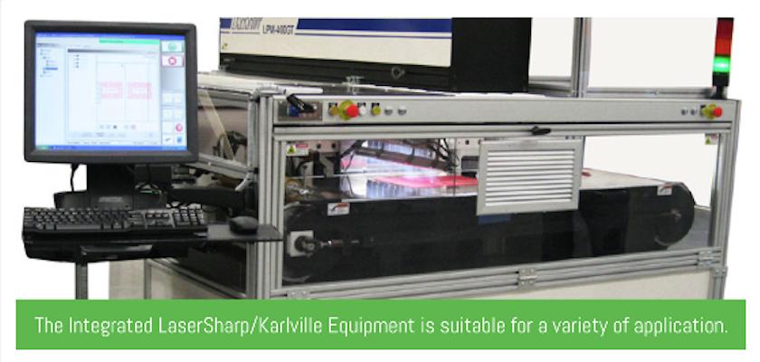 laser sharp karlkille equipment