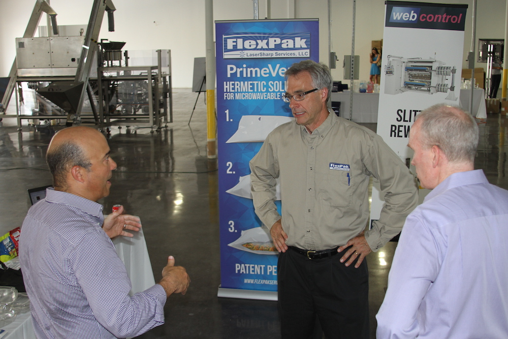 flexPak Laser Sharp Services LLC opening tour