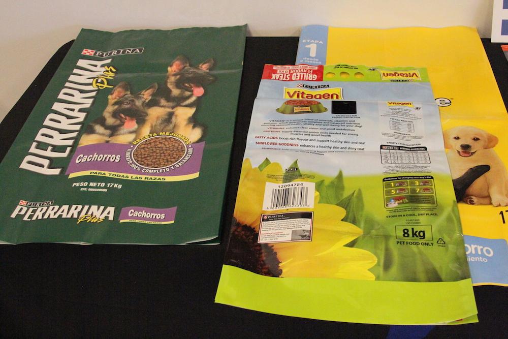 perrarina empty spout bag packaging