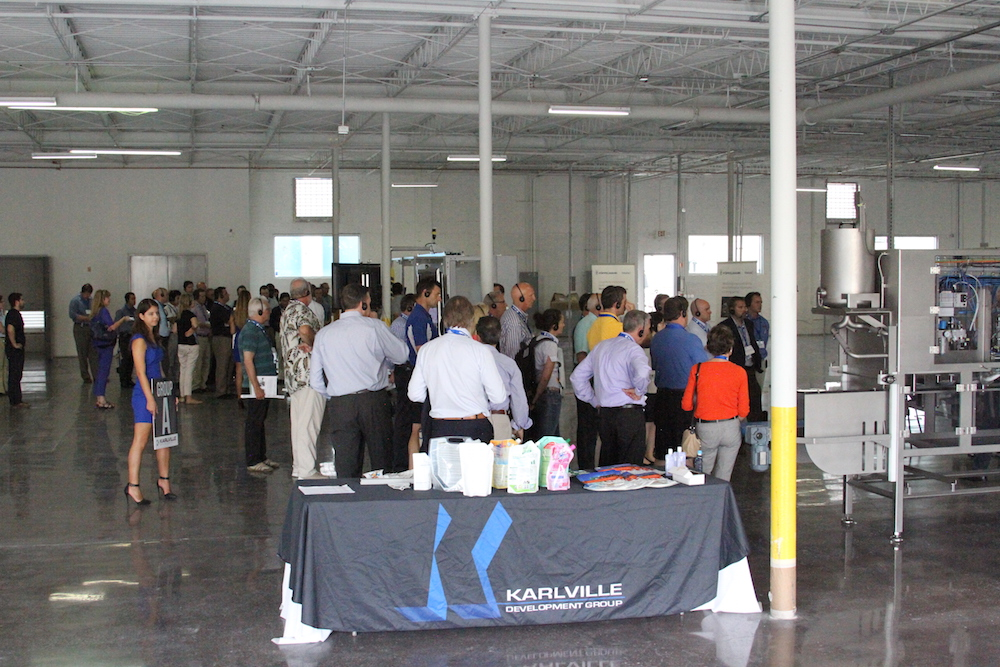 At a sneak preview tour of the new Karlville facility
