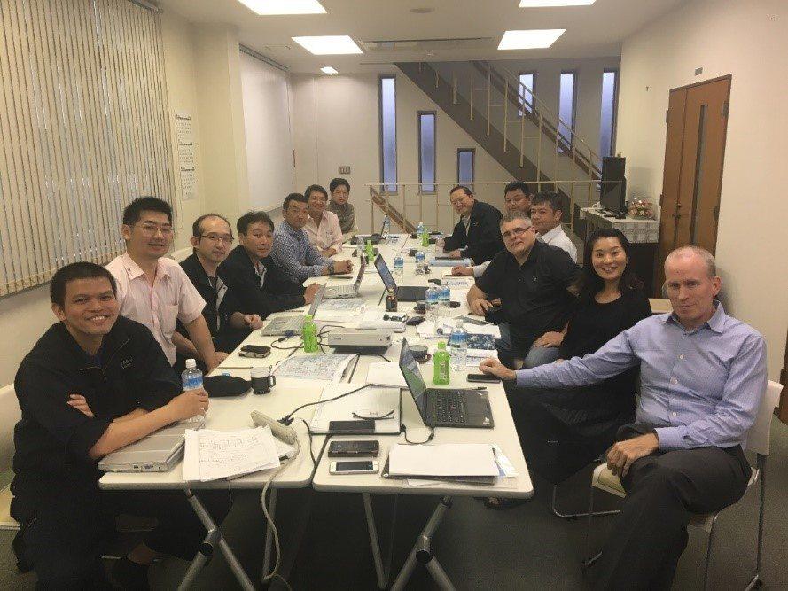 New Iwasho- Team Meeting